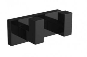 Cabide Duplo Quadratta 2062 BL83 NO Black Noir Deca