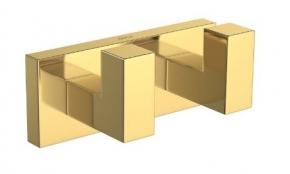 Cabide Duplo Quadratta 2062 GL83 Gold Deca