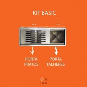 Calha Gourmet 45cm Kit Basic Cnox