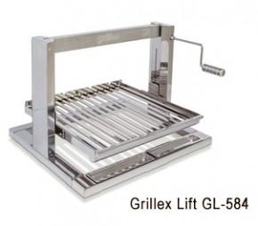 Churrasqueira Grillex Lift GL-584 Inox Giragrill