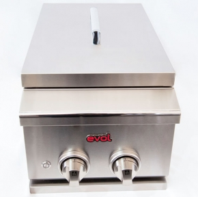 Churrasqueira Inox Side Burner Evol