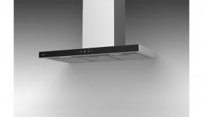Coifa de Parede Aço Inox e Vidro 90cm Londres 220v Debacco