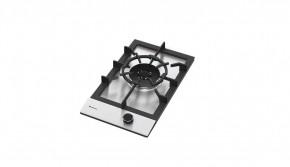 Cooktop em Inox 1 Queimador à Gás 30x51 Zurique Debacco