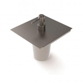Dispenser para Detergente 15cm em Inox para Calha Úmida Xteel