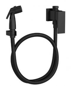 Ducha Higiênica com Registro e Derivação Unic 1984 BL90 ACT MT Black Matte Deca