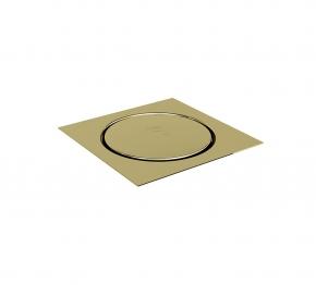Grelha Quadrada 10x10 Click Inox Gold Ducon