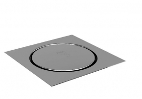 Grelha Quadrada Inox 15x15 Click Premium Ducon