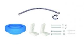 Kit de Instalação para Bacia com Caixa e Fixação Lateral 1201 Cromado Deca