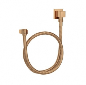 Kit Flexível Quadrado com Suporte para Ducha Manual 4604 Red Gold Deca