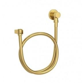 Kit Flexível Redondo com Suporte para Ducha Manual 4605 Gold Deca