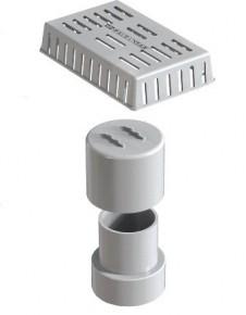 Kit Sifão Vertical com Grande Retentora Linear