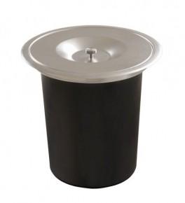 Lixeira de Embutir para Pia de Cozinha 5 litros Acetinado DeBacco