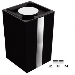 Lixeira Miss by Zen 5 Litros Preta Zen Design