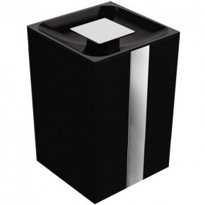 Lixeira One 5 Litros Preta Zen Design