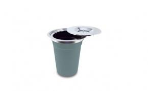 Lixeira de Sobrepor para Pia de Cozinha 12 litros DeBacco