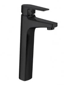 Misturador Monocomando Lavatório Mesa Bica Alta Level Black Noir Deca