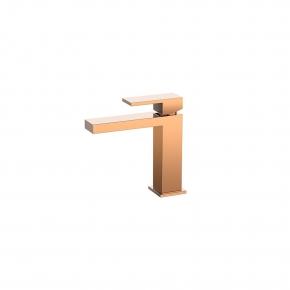 Misturador Monocomando de Mesa para Lavatório Bica Baixa Madrid Rose Gold Jiwi