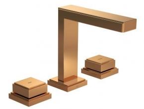 Misturador para Lavatório de Mesa Bica Alta Quadra Red Gold Deca