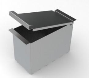 Porta Esponja com Tampa 7,5cm em Inox para Calha Úmida Xteel
