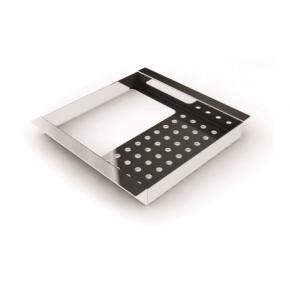Porta Esponja e Detergente Simples 15cm em Inox para Calha Úmida Xteel