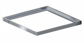 Porta Grelha Quadrado 150mm Polida Grupo Linear