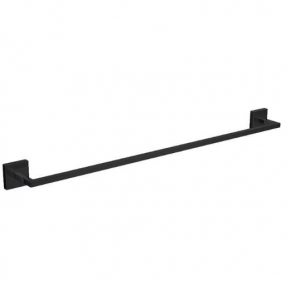 Porta Toalha Barra Clean 2040 GL 060 Black Noir Deca