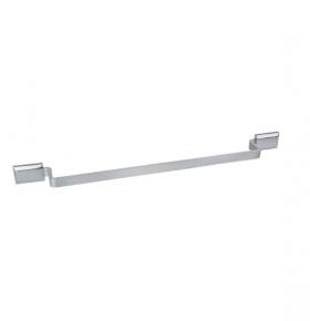 Porta Toalha de Banho Classic em Alumínio Escovado com Verniz Ducon