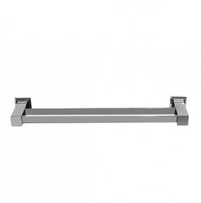 Porta Toalha de Banho Duplo Premium em Aço Inox Polido 62cm Ducon