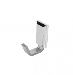 Porta Toalha de Rosto Classic em Alumínio Escovado com Verniz Ducon