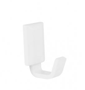 Porta Toalha de Rosto Classic White Branco Fosco Ducon