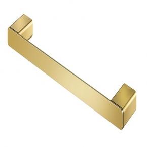 Porta Toalhas de Rosto Flat 30cm Ouro Polido Docol