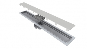 Ralo Linear Smart 60cm Tampa em Inox