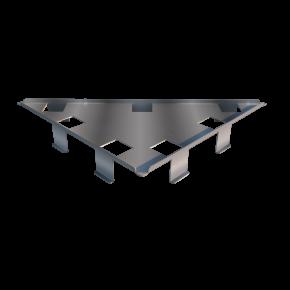 Ralo Linear Vertex Triangular Tampa Oculta