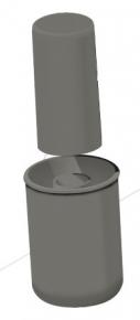 Sifão 50mm Ralo Linear
