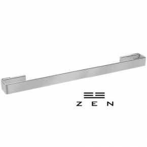 Toalheiro Simples Inox Polido/ Cromo Soul Zen Design