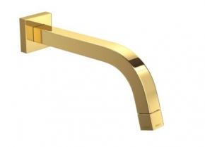 Torneira de Parede para Lavatório Tube 1178 GL TUB Gold Deca