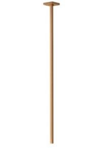 Torneira para Lavatório de Teto 1198 Tube Gold Matte Deca