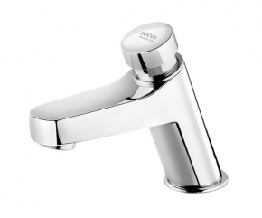 Torneira p/ lavatorio Pressmatic Join Bacteria-Free Cromado Docol