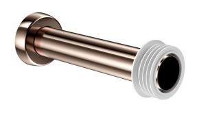 Tubo De Ligação Bacia 25cm Cobre Polido Docol