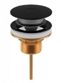 Válvula de Escoamento Click para Lavatório 1601 Luxo Black Matte Deca