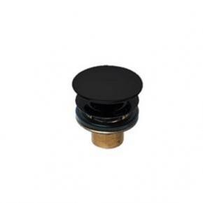 Válvula de Escoamento para lavatório 1601 Luxo Black Matte Deca