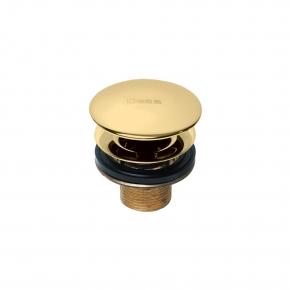 Válvula de Escoamento para lavatório 1601 Luxo Gold Deca