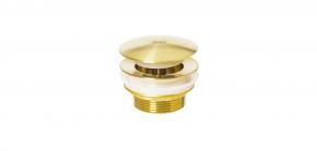 Válvula Para Banheira Contemporânea K13 Ed Clic Clac Brushed Gold Doka