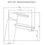 Misturador Monocomando Lavatório 2875 Forum C49 Cromado Deca