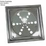 Grelha Inox Rotativa Quadrada 15x15 com Caixilho Aminox