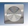 Grelha de Aço Inox Rotativa Quadrada 15x15cm sem Caixilho Aguia