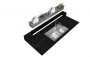Calha Gourmet 1.20m Kit Smart Cnox