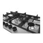 Cooktop em Inox 5 Queimadores à Gás 68x51 Zurique 220v Debacco