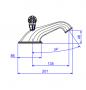Misturador Lavatório Mesa 1875 Windsor C81 Cromado Deca