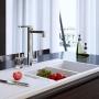 Misturador Monocomando de Cozinha 2240.C com Filtro Twin Cromado Deca